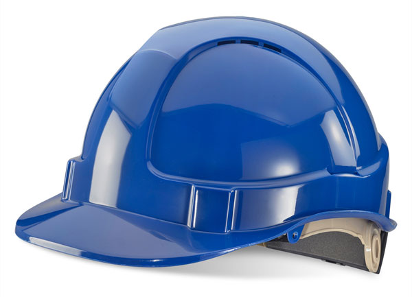VENTED SAFETY HELMET WITH RATCHET - BBVSHRH