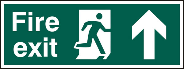 FIRE EXIT SIGN - BSS12105