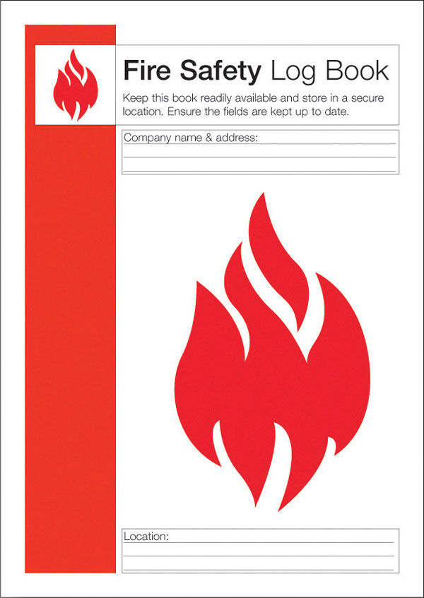 FIRE SAFETY LOG BOOK - CM1325