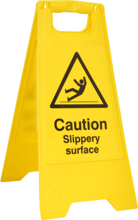 SLIPPERY SURFACE A BOARD - BSS4704