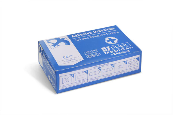 ASSORTED BLUE PLASTERS 100 - CFABDP100