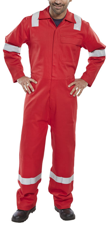 FIRE RETARDANT NORDIC DESIGN BOILERSUIT - CFRBSNDRE