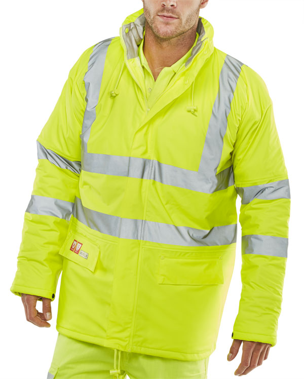 FIRE RETARDANT ANTI-STATIC PADDED JACKET - CFRLR3456SY