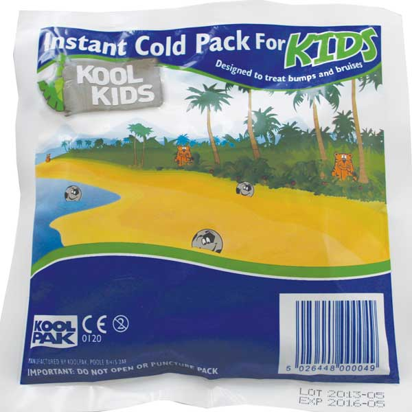 KIDS INSTANT ICE PACK SINGLE USE - CM0372