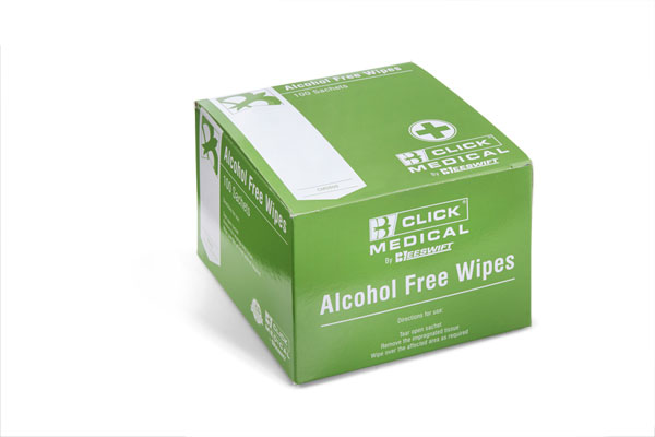ALCOHOL FREE WIPES 100 - CM0800