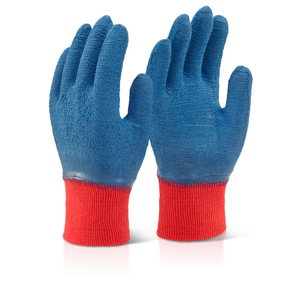 LATEX FULLY COATED GRIPPER GLOVE - LFCGGB