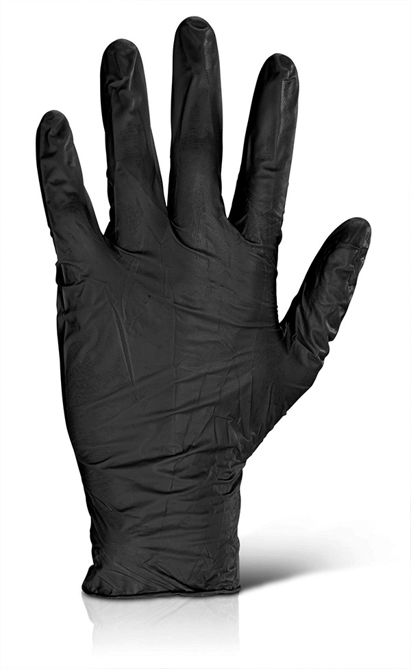 NITRILE DISPOSABLE GLOVE - NDGPF50BL