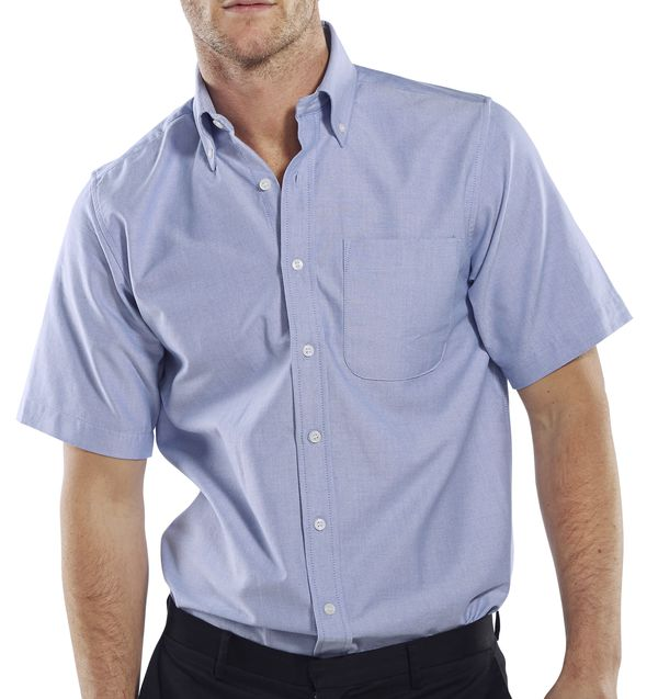OXFORD SHIRT SHORT SLEEVE - OXSSSB