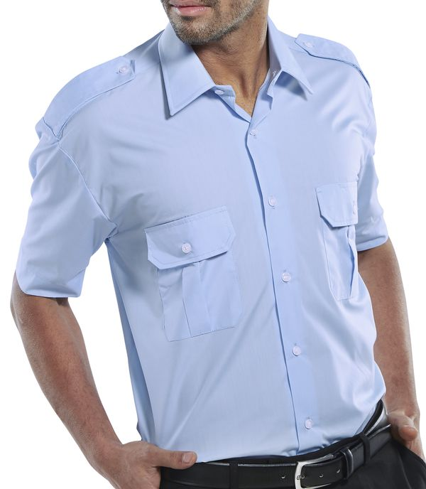 PILOT SHIRT SHORT SLEEVE - PSSSB