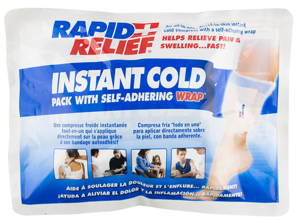 INSTANT COLD PACK C/W SELF ADHERING WRAP 5