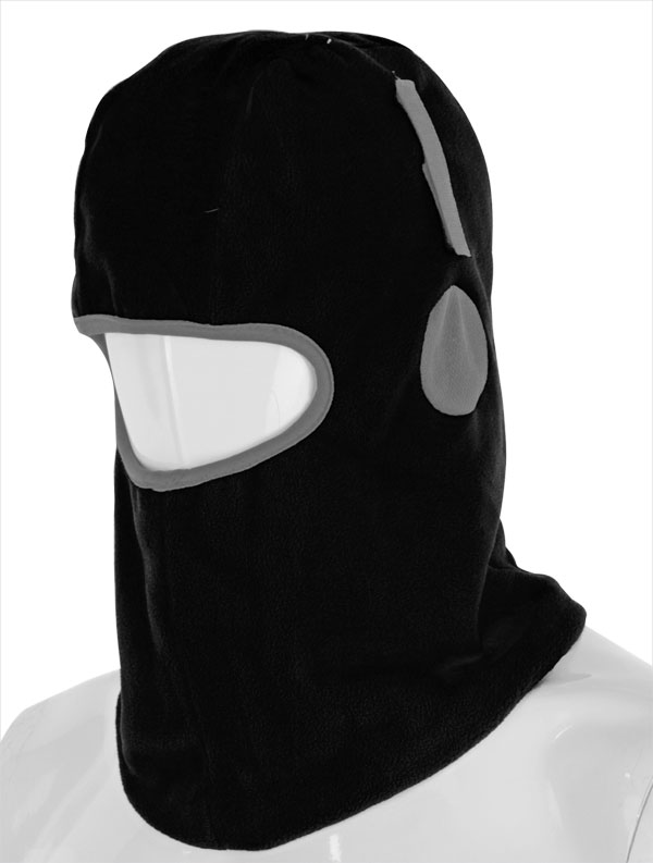 BALACLAVA HOOK AND LOOP THINSULATE LINED - THBVCBL