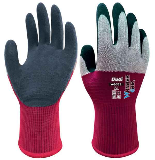 WONDER GRIP DUAL GLOVES 09/L  - WG355