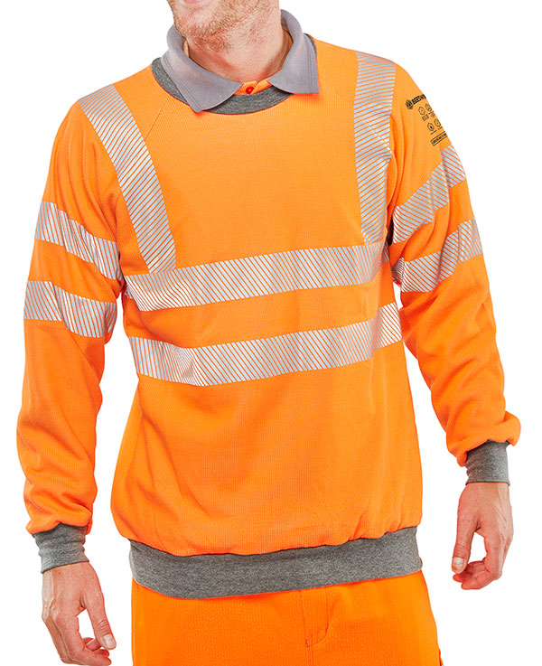 ARC FLASH GO/RT SWEATSHIRT - CARC56OR